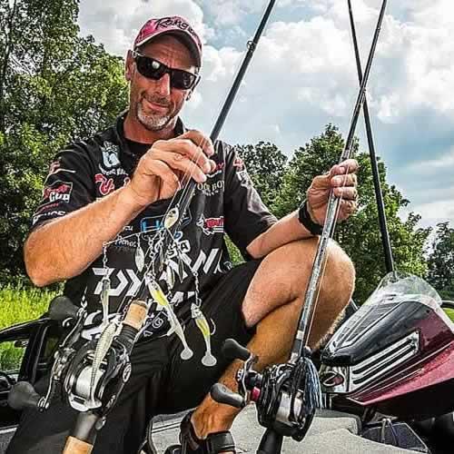 Lawrence `Larry` Mazur - Professional Angler
